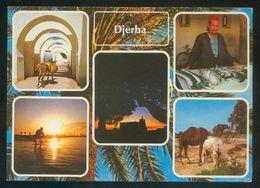Túnez. Jerba. *Houmt Souk De Djerba* Ed. H. Ismail Nº HO 128. Nueva. - Túnez
