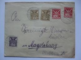 CZECHOSLOVAKIA - 1921 Cover Grafenberg To Magdeburg Germany - Czechoslovakia
