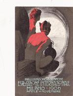 CPA Publicitaire Esposizione Internazionale MILANO 1906 Inaugurazione Del Sempione Publicité (2 Scans) - Publicités