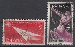 SPANJE - Michel - 1956 - Nr 1071/72 - Gest/Obl/Us - 1931-Aujourd'hui: II. République - ....Juan Carlos I