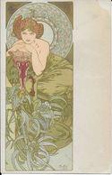 Cpa Mucha - Illustrateur Alphonse Mucha -1 Coin Album Famille - Mucha, Alphonse