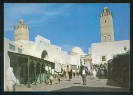 Túnez. Kairouan. *Les Souks* Ed. H. Ismail Nº 213. Nueva. - Túnez