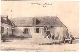 CPA INDRE ET LOIRE.MONTREUIL.LE CARROIR - France