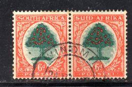 T1447 - SUD AFRICA , 6 Pence  Coppia Usata - Zuid-Afrika (...-1961)