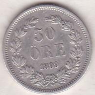 Sweden 50 Öre 1899. Oscar II. Argent. KM# 740 - Suède