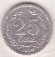 Sweden 25 Öre 1896. Oscar II. Argent. KM# 739 - Suède
