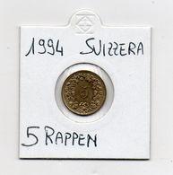 Svizzera - 1994 - 5 Rappen - Vedi Foto - (MW1097) - Suiza