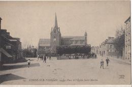 D14 - Condé Sur Noireau - La Place Et L' Eglise St Martin  : Achat Immédiat - France