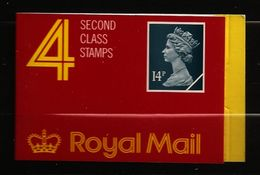 Grande-Bretagne 1988 N° Carnet 1328c (I) ** Courant, Type Machin, Reine, Elisabeth II, Couronne, Collier, Bijoux, Beauté - 1952-.... (Elisabeth II.)
