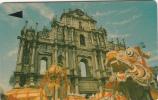 MACAU(GPT) - Temple, CN : 1MACK, First Issue MOP$30, Tirage 20000, Used - Macau
