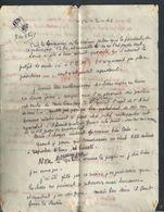 LETTRE SUR TIMBRE DE 1941 OB DIGNE LIRE : - Lettres & Documents