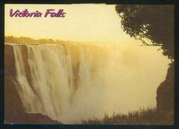 Zimbabwe. *Victoria Falls At Sunrise* Ed. PhotoSafari Z-406. Circulada 1998. - Zimbabwe