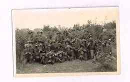 Armée Belge.Soldats En Tenue De Camouflage. - Guerre, Militaire
