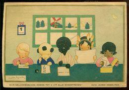 """Nederland 1945 Kaart """"Voor Het Kind"""" Uit 1937 Met NVPH 444 - Netherlands"""
