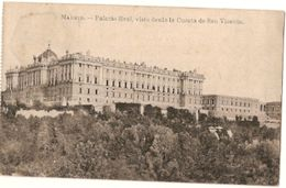 Spain & Circulated, Palacio Real, Madrid, Linda-A-Pastora, Lisboa 1920 (799) - Monumenti