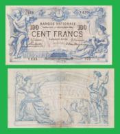 BELGIUM 100 FRANCS 1908  -- Copy - Copy- Replica - REPRODUCTIONS - Belgium