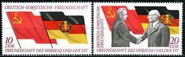 DDR - Michel 1759 / 1760 - ** Postfrisch (F) - 10-20Pf   25 Jahre DSF - [6] République Démocratique