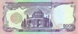 Afghanistan P.62 5000 Afghanis 1993   Unc - Afghanistan