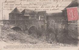 CPA Précurseur Charbogne - Entrée Du Château De Charbogne - France