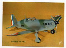 Les Collections Du Musée De L'air--Avion--MORANE 406 -- 1938 --modèle Réduit 1/10- - Avions