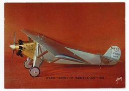 """Les Collections Du Musée De L'air--Avion--RYAN """"Spirit Of St Louis""""-- 1927 --modèle Réduit 1/10- - Autres"""