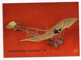 """Les Collections Du Musée De L'air--Avion--Santos-Dumont """"Demoiselle""""-- 1908 --modèle Réduit 1/10- - Avions"""