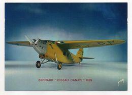 """Les Collections Du Musée De L'air--Avion--BERNARD- """"Oiseau Canari """"-- 1929 --modèle Réduit 1/10- - Avions"""