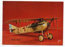 Les Collections Du Musée De L'air--Avion--SPAD 7  1913 ---modèle Réduit 1/10- - Avions