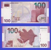 Azerbaijan  100 Manat 2006   -- Copy - Copy- Replica - REPRODUCTIONS - Azerbaïdjan