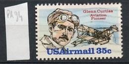 Etats Unis - Vereinigte Staaten - USA Poste Aérienne 1980 Y&T N°PA94 - Michel N°1454 (o) - 35c G Curtiss - 3a. 1961-… Oblitérés