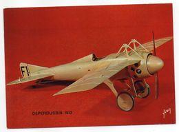 Les Collections Du Musée De L'air--Avion--DEPERDUSSIN     1913 ---modèle Réduit 1/10- - Avions