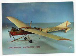 """Les Collections Du Musée De L'air--Avion-- LEVAVASSEUR  """"Antoinette""""     1909 ---modèle Réduit 1/10- - Avions"""