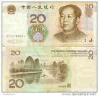 RO) 2005 CHINA, BANK NOTE, 20 YUAN, MAO TSE-TUNG, RIO LI-GUILIN-GUANGXI, UNCIRCULATED. - China