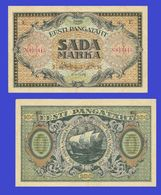 ESTONIA 100 Mark 1923  -- Copy - Copy- Replica - REPRODUCTIONS - Estonia