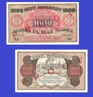 ESTONIA 1000 MARKA 1922 -- Copy - Copy- Replica - REPRODUCTIONS - Estonie