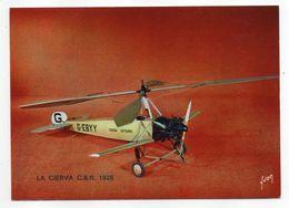 Les Collections Du Musée De L'air--Avion--LA  CIERVA  C 8.11   -  1928 ---modèle Réduit 1/10- - Avions