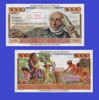 REUNION 100 Nouveaux Francs - 5000 Francs 1971    -- Copy - Copy- Replica - REPRODUCTIONS - Reunion