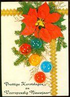 "Nederland 1981 Ansichtkaart ""Prettige Kerstdagen En Gelukkig Nieuwjaar"" - Holanda"