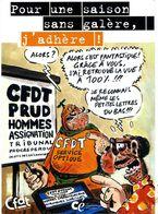 POLITIQUE  L 3  /   CFDT     /  CPM / CPSM 10 X 15 - Syndicats