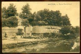 Nederland 1926 Ansichtkaart Hattem Oude Stadsmuur - Hattem