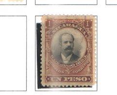 Nicaragua 1903 PO Pres.Zelaya Scott.174+ See Scans Usati/nuovi - Nicaragua