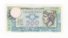 "Italy 500 Lire "" Mercurio "" 1979 UNC. - 500 Lire"