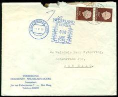 Nederland 1959 Brief Met Strafport - Period 1949-1980 (Juliana)