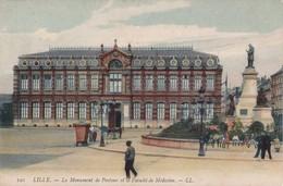 Lille - Monument De Pasteur Et Faculté De Médecine (LL120) - Lille