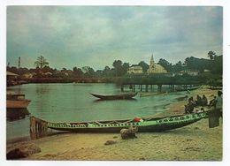 Cameroun--KRIBI--Le Port ,ambiance Nocturne - ( Animée) - Cameroun