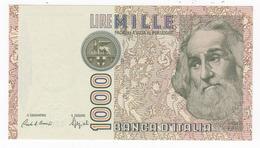 """Italy 1000 Lire """" Marco Polo """" 1988 FA. UNC. - [ 2] 1946-… Republik"""