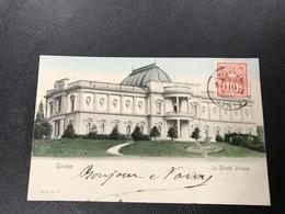 36 - GENEVE La Musée Ariana - 1904 Timbrée - GE Geneva