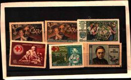 85941) RUSSIA-LOTTO FRANCOBOLLI-MNH**-USATO - 1923-1991 USSR