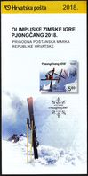 Croatia 2018 / Prospectus, Leaflet, Brochure / Winter Olympic Games / PyeongChang - Croatie