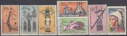 CZECHOSLOVAKIA 1629-1635,unused - American Indians